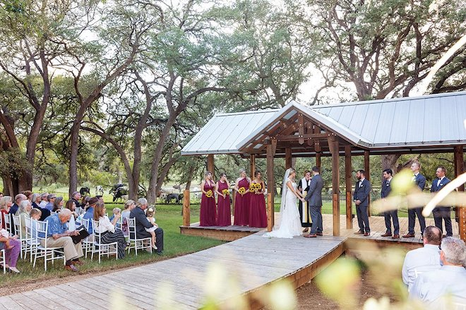 outdoor, ceremony, site, gazebo, hill country, longhorns, nature, fields, rustic, gardens