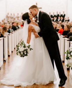 Simple Elegant Wedding At Briscoe Manor By Emily Figurelli Photography