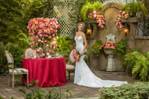 Vibrant Garden-Themed Styled Shoot At Heather's Glen