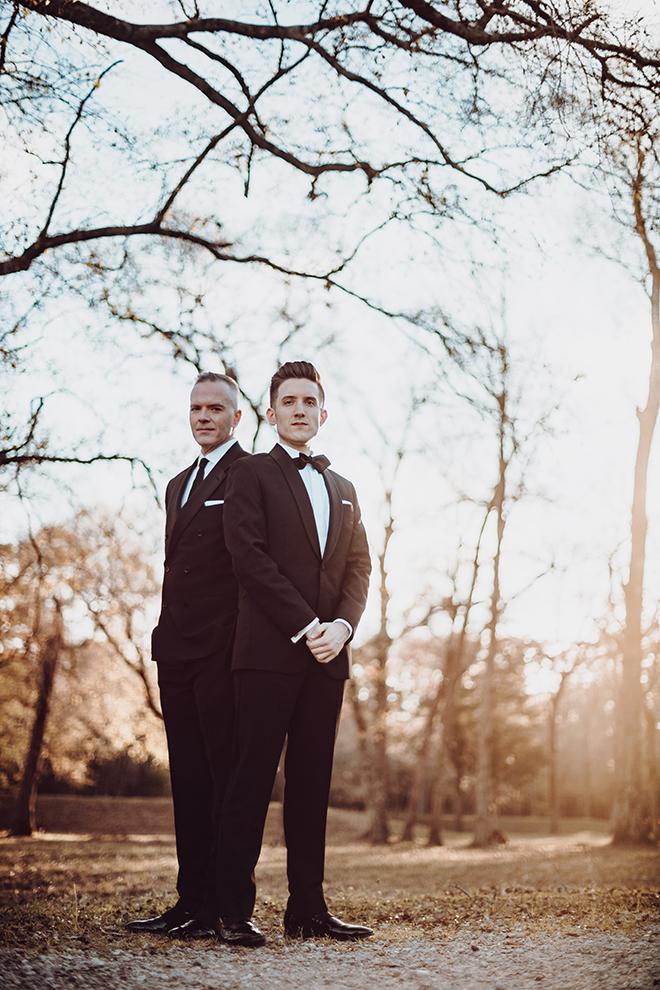 groom, grooms, groom suit, black tie, black bowtie, madera estates, ama by aisha, same sex wedding, gay wedding, lgbt, real wedding