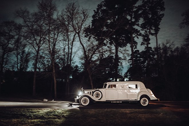 wedding transportation, grand exit, sendoff, classic car, vintage