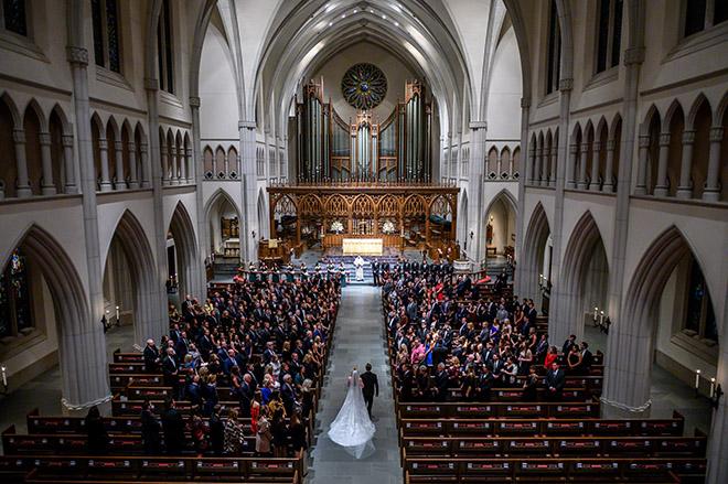 church ceremony, traditional, houston, ceremony decor, elegant