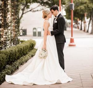 Downtown Houston Micro Wedding With Janelle Alexis Salon