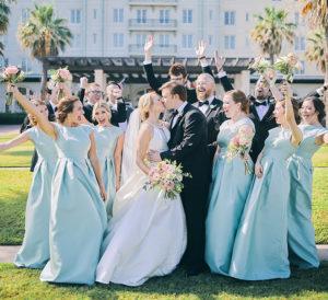 Elegant And Intimate Daytime Wedding At Hotel Galvez & Spa