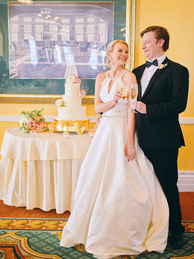 daytime wedding, intimate, covid-19, pink, peach, sage, creams, wedding day portraits, hotel galvez & spa
