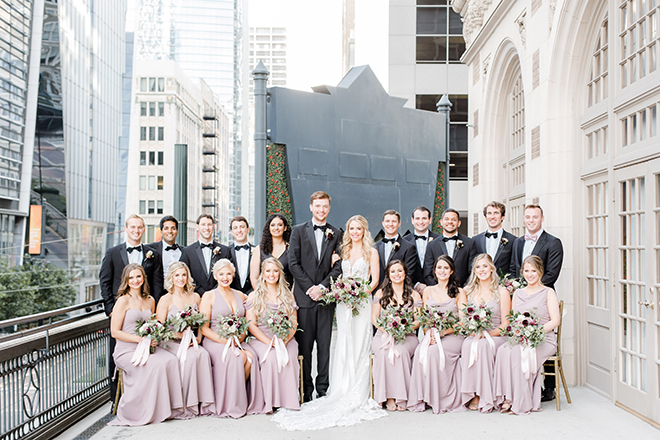 wedding party, outdoor wedding photography, amy maddox photography, Bridesman, blush bridesmaids dresses, wedding bouquet, bridal bouquet, black bow tie, groomsmen, best woman
