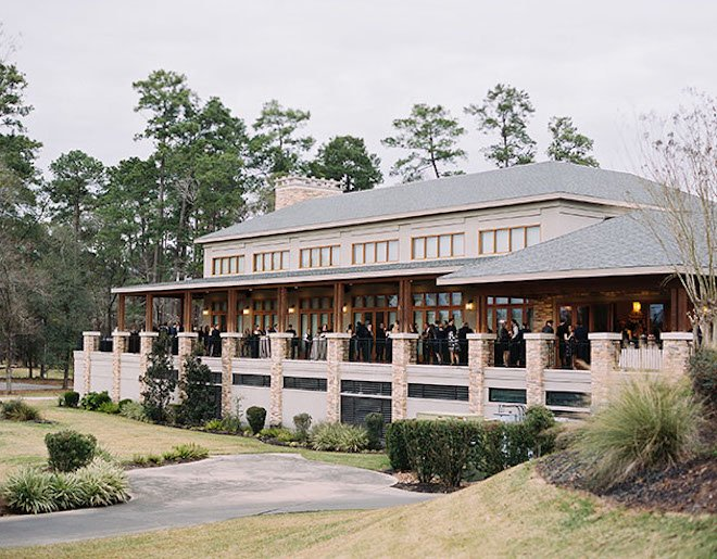 country club venue, outdoor photo, the woodlands country club, large venue, reception venue, venue