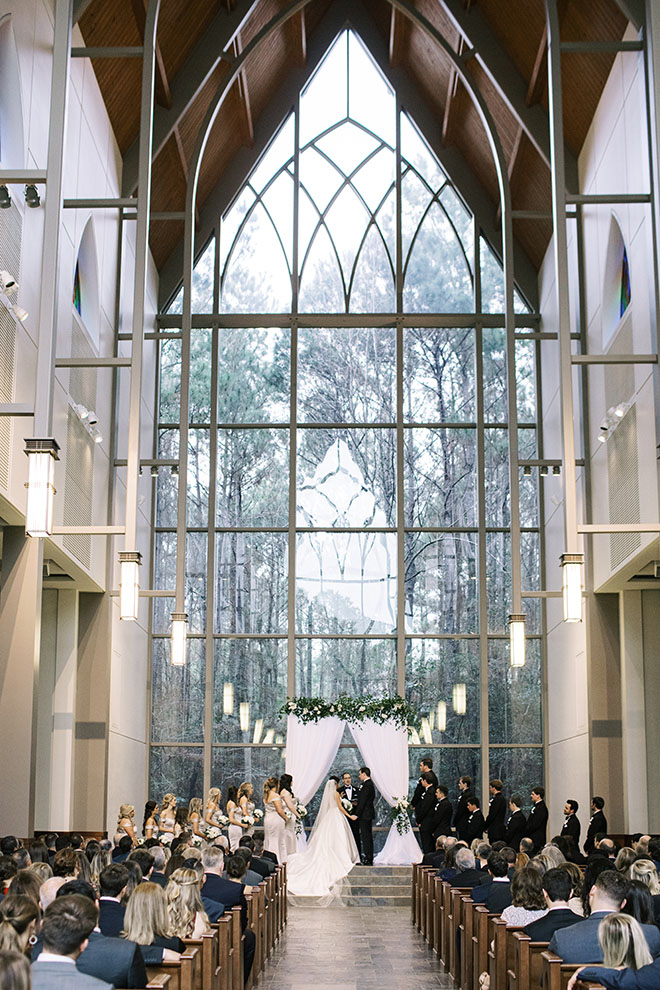 Couple portrait, the woodlands country club, bridal bouquet, white flowers, tuxedo, bridal veil, religious ceremony, church chapel