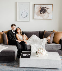 Refined and Modern Downtown Wedding Shoot at Four Seasons Hotel Houston