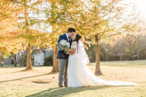 Silver and Blue Modern Wedding At 15 Acres