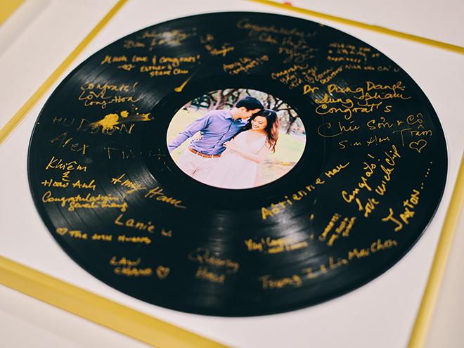 wedding guest book, record, unique wedding ideas, unique alternatives