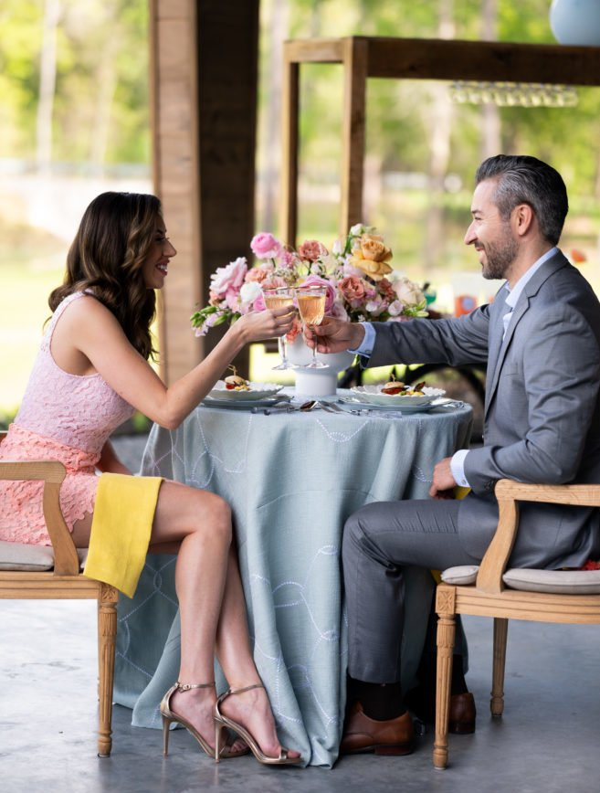 Modern Affinity bridal styled shoot with Southern Cadence Cuisine.