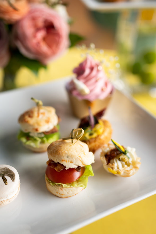 Mini Burger bites from Southern Cadence Cuisine Catering.