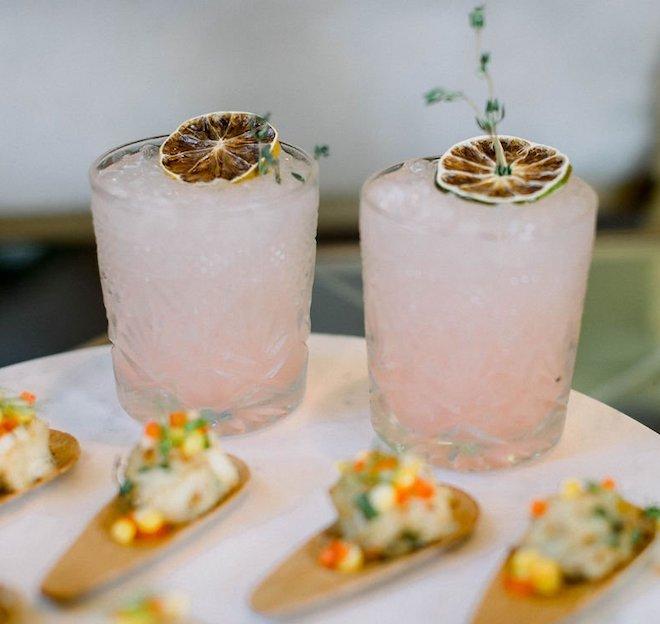 Summer cocktails.