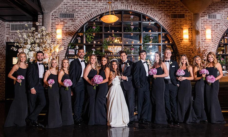 Elegant Lavender, Violet and Ivory Wedding at The Astorian.