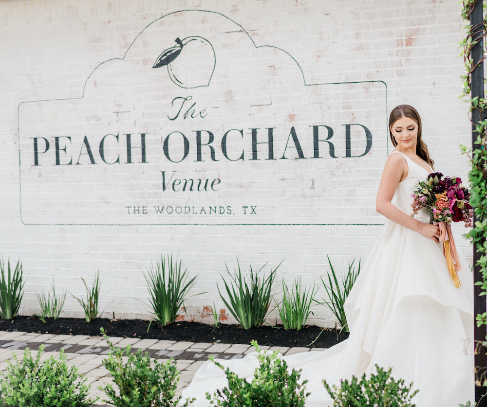 The Peach Orchard Venue in The Woodlands TX.