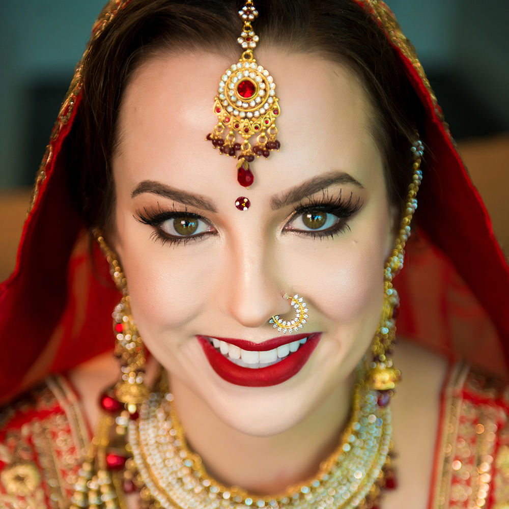 Indian Bridal Jewelry - Makeup - Hair