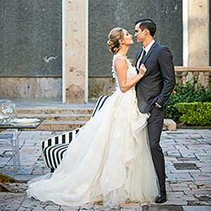 High fashion meets modern design with this wedding inspiration story