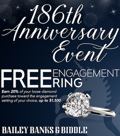 Bailey Banks Biddle 186th Anniversary Event Weddings In Houston