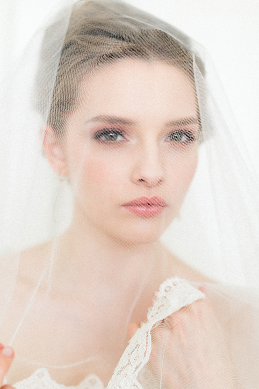 natural bridal makeup and hair