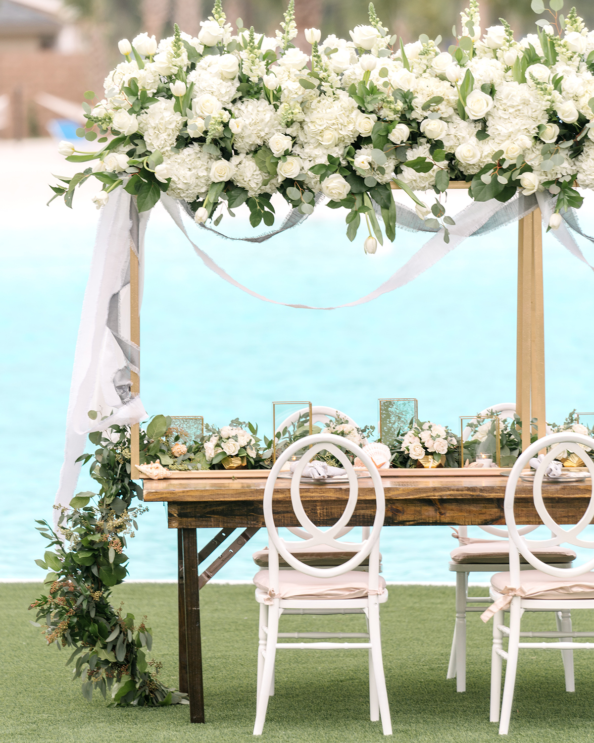 houston wedding florists for beach weddings