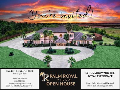 Palm Royal Villa - Fall Open House
