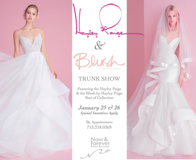 Hayley Paige Trunk Show - Houston Texas