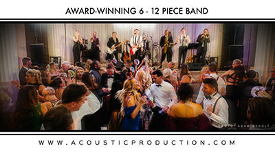 DANNY RAY and the ACOUSTIC PRODUCTION - Wedding Band and Entertainment