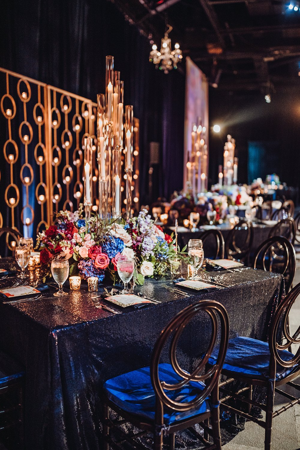 wedding reception - tablescapes
