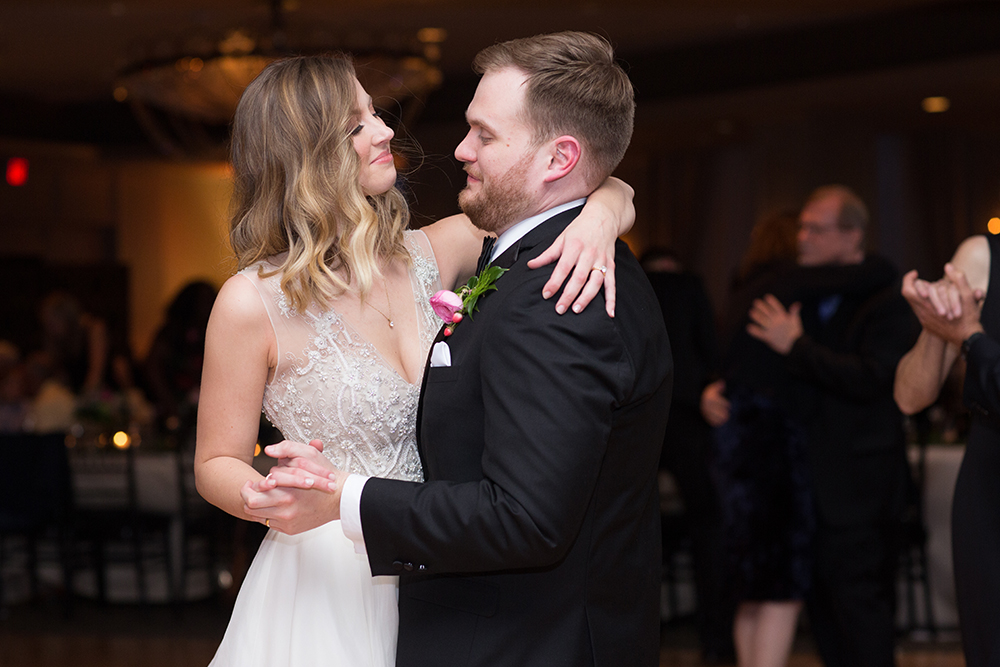 bride and groom - first dance photography