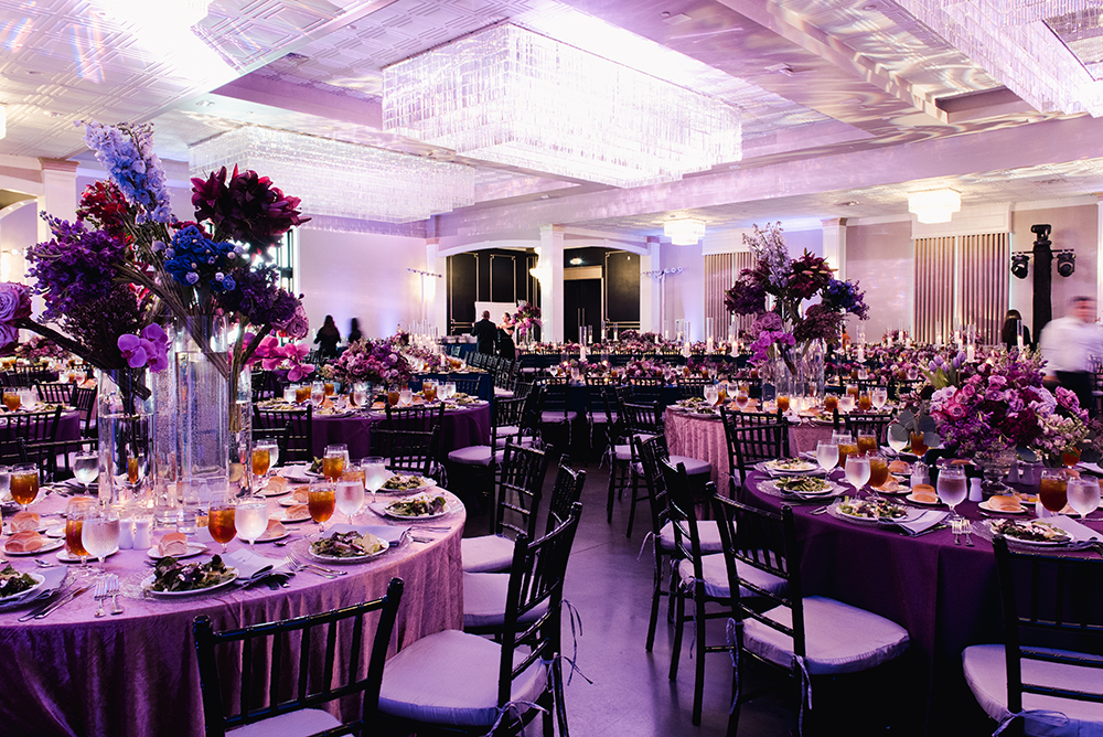wedding reception decor - ballroom