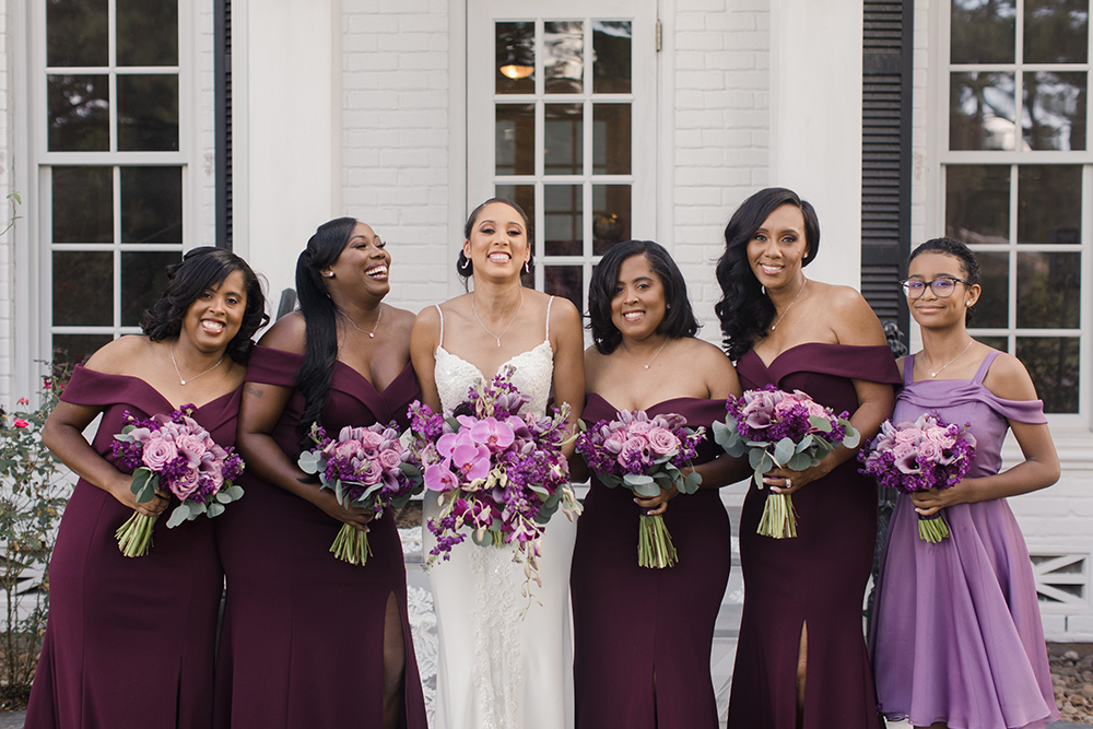 bride tribe - bridal party