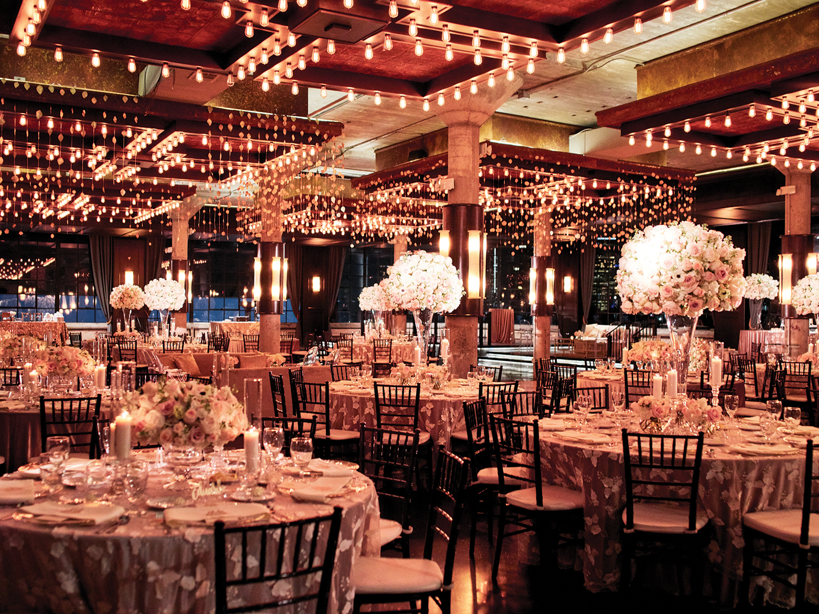 indoor reception venue - the astorian - downtown houston