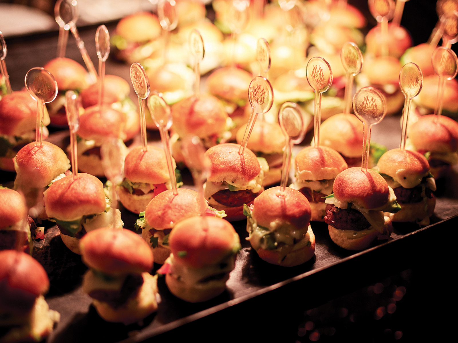 sliders - appetizers - catering