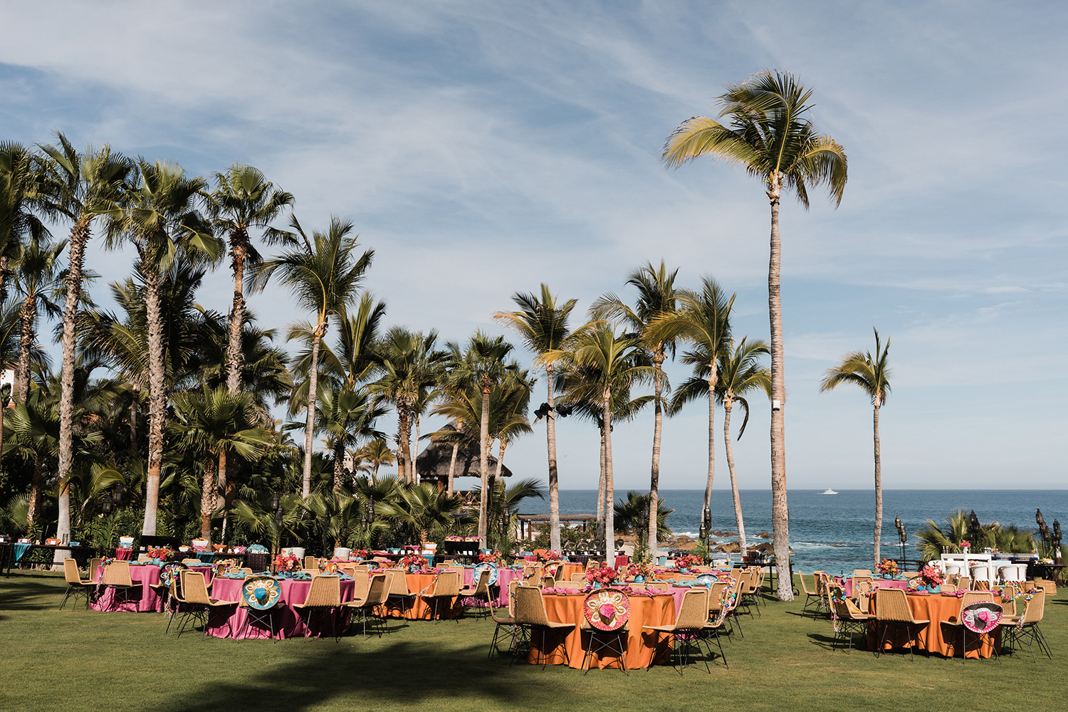 Destination Wedding Weekend - Welcome Party - Colorful in Mexico