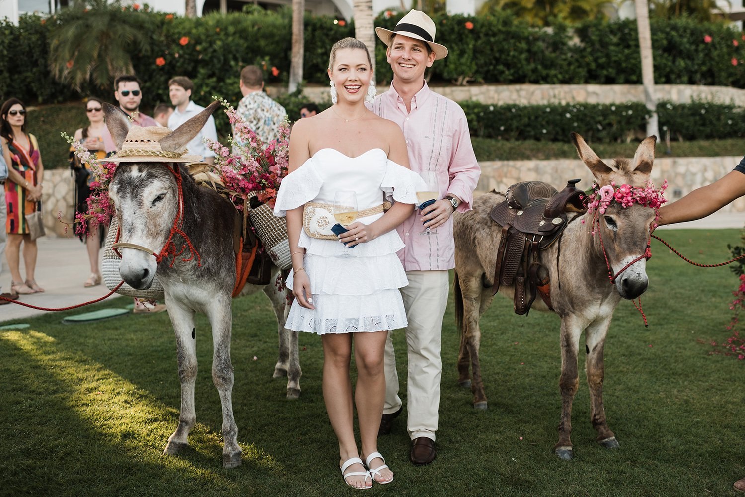 Houston Couple - Destination Wedding Welcome Party with Beer Burros