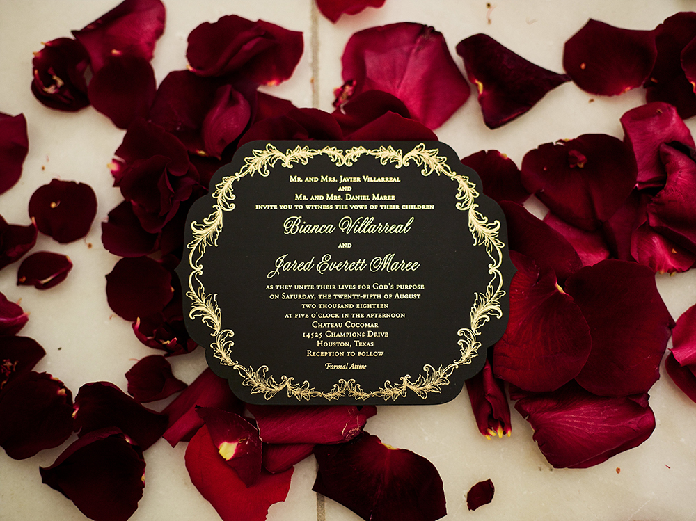 invitations, roses, flowers, Burgundy, Ivory, gold, wedding