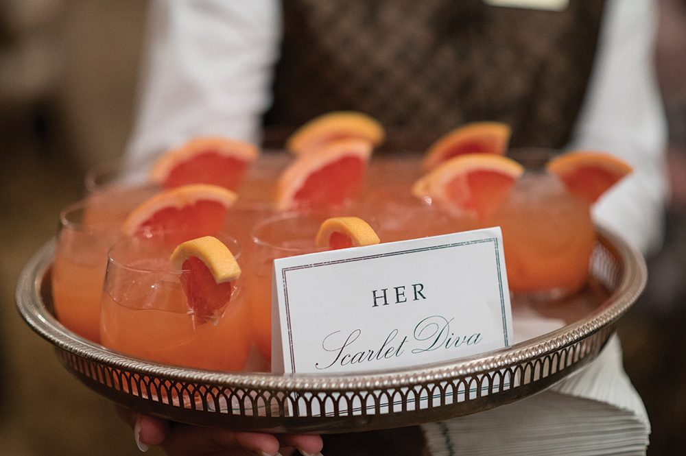 houston wedding cocktails