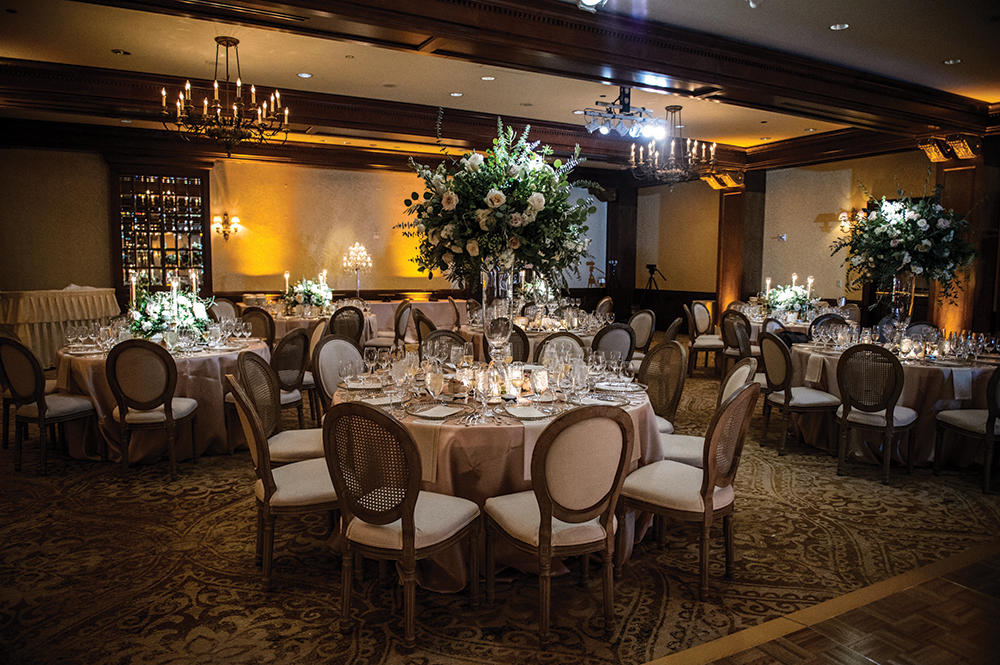 houston indoor wedding reception