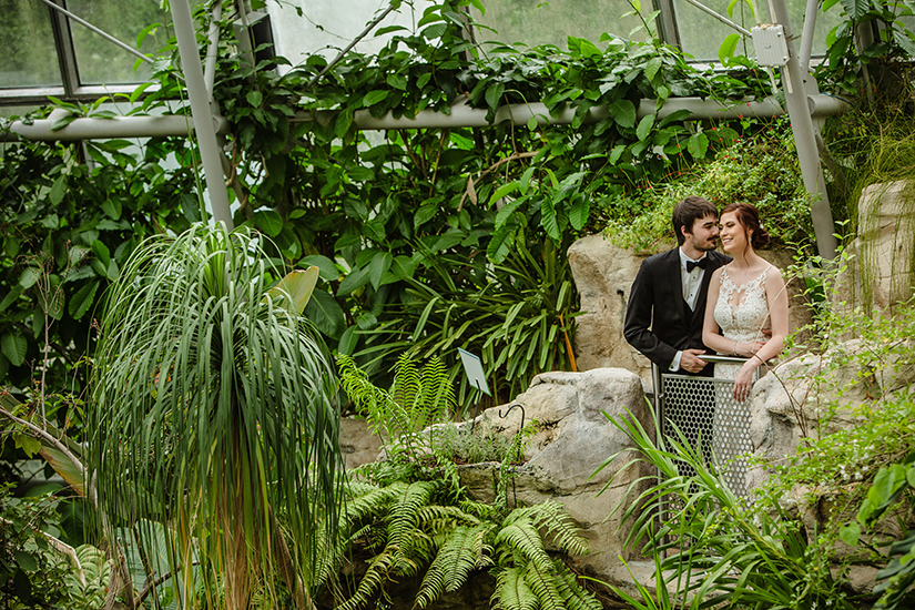 museum of natural science - wedding photography - blanca duran