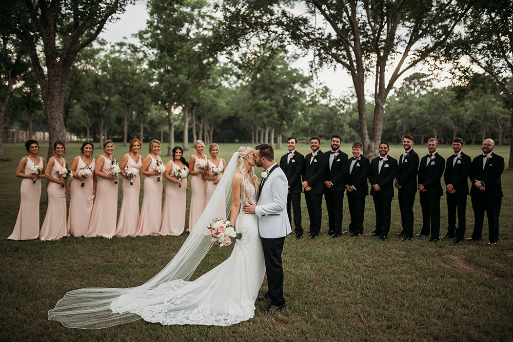 bridal party - houston wedding photography