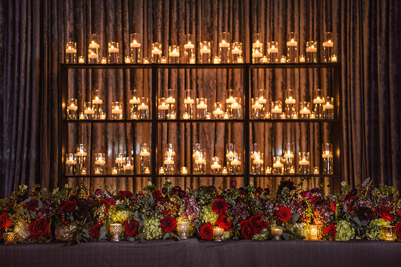 houston wedding, candle light, wedding decor