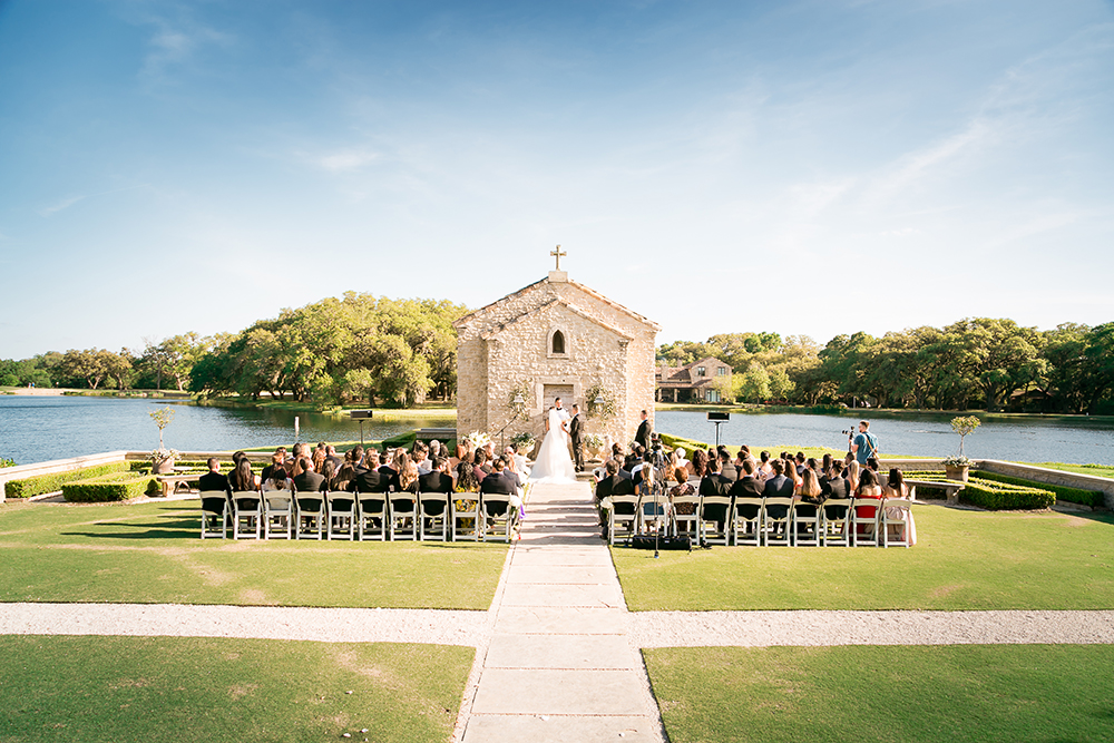 houston wedding venue - waterfront - french chic