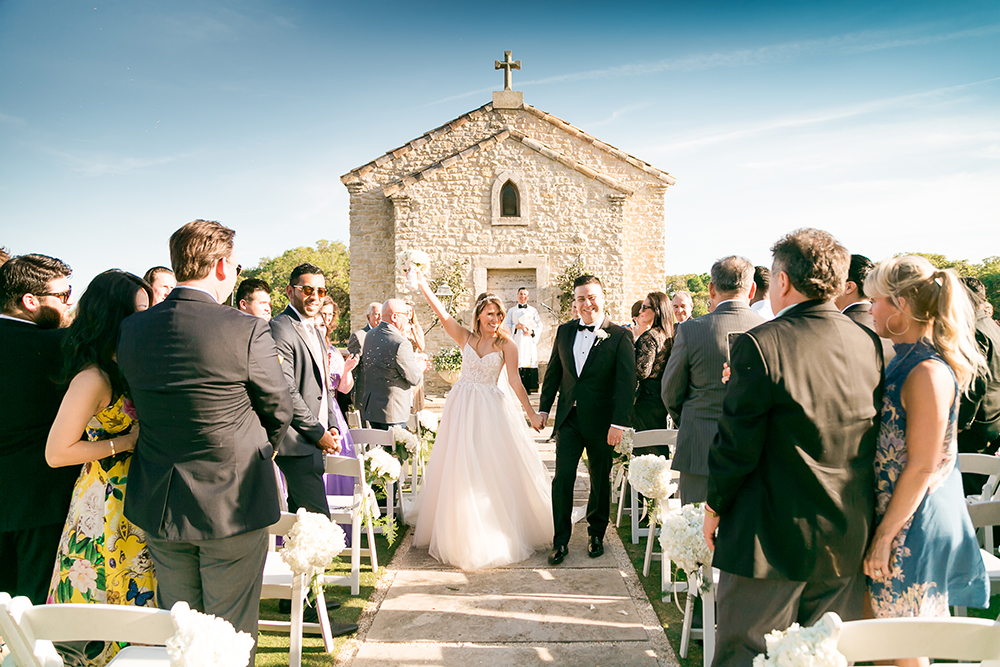 french mediterranean - charming venue - outdoor ceremony