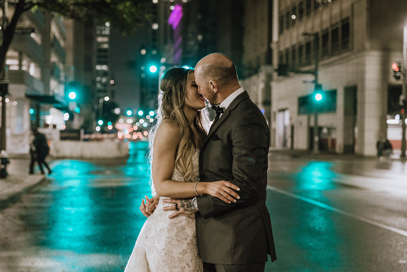 houston wedding, downtown, bridal