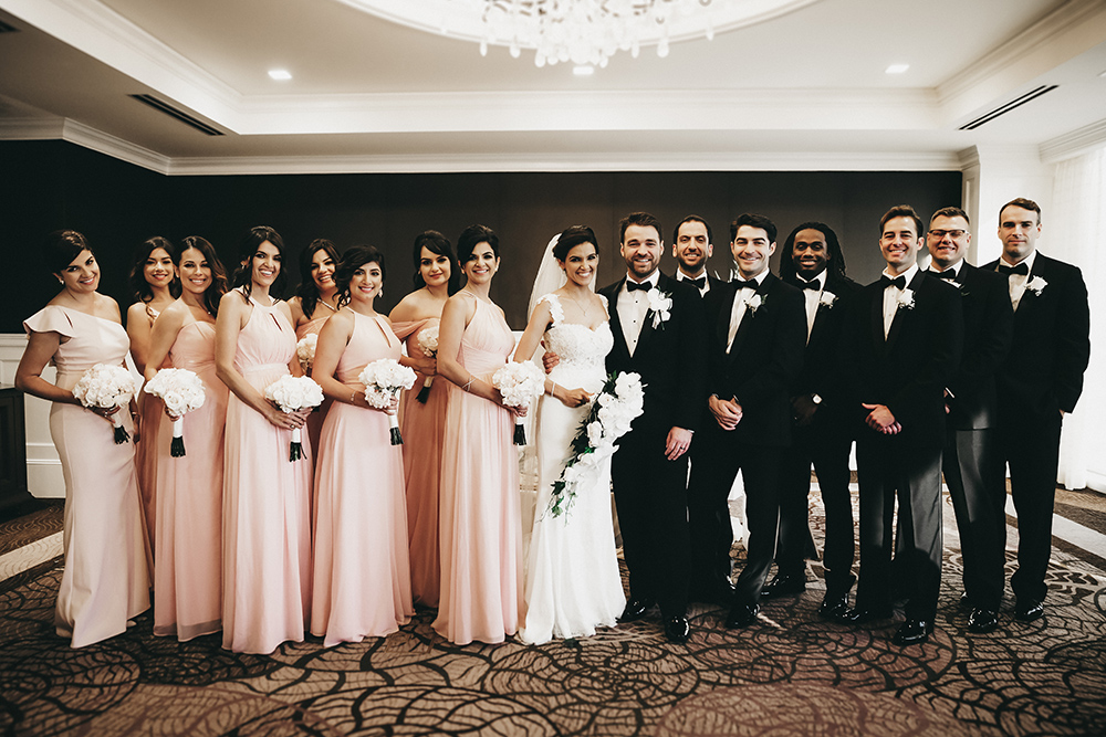 wedding party - wedding photography