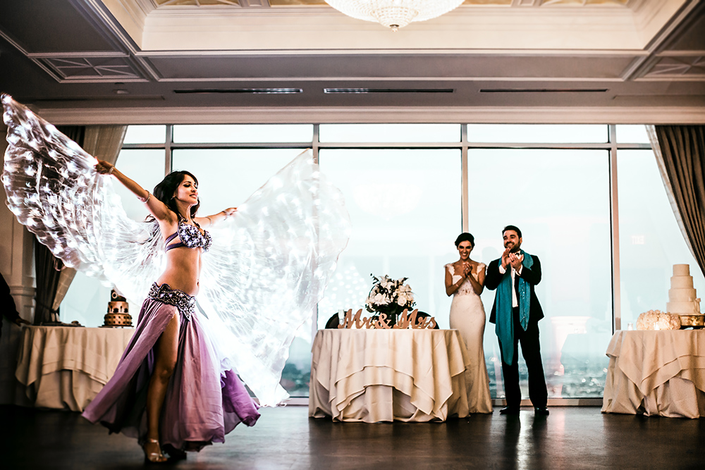 belly dancer - wedding reception entertainment