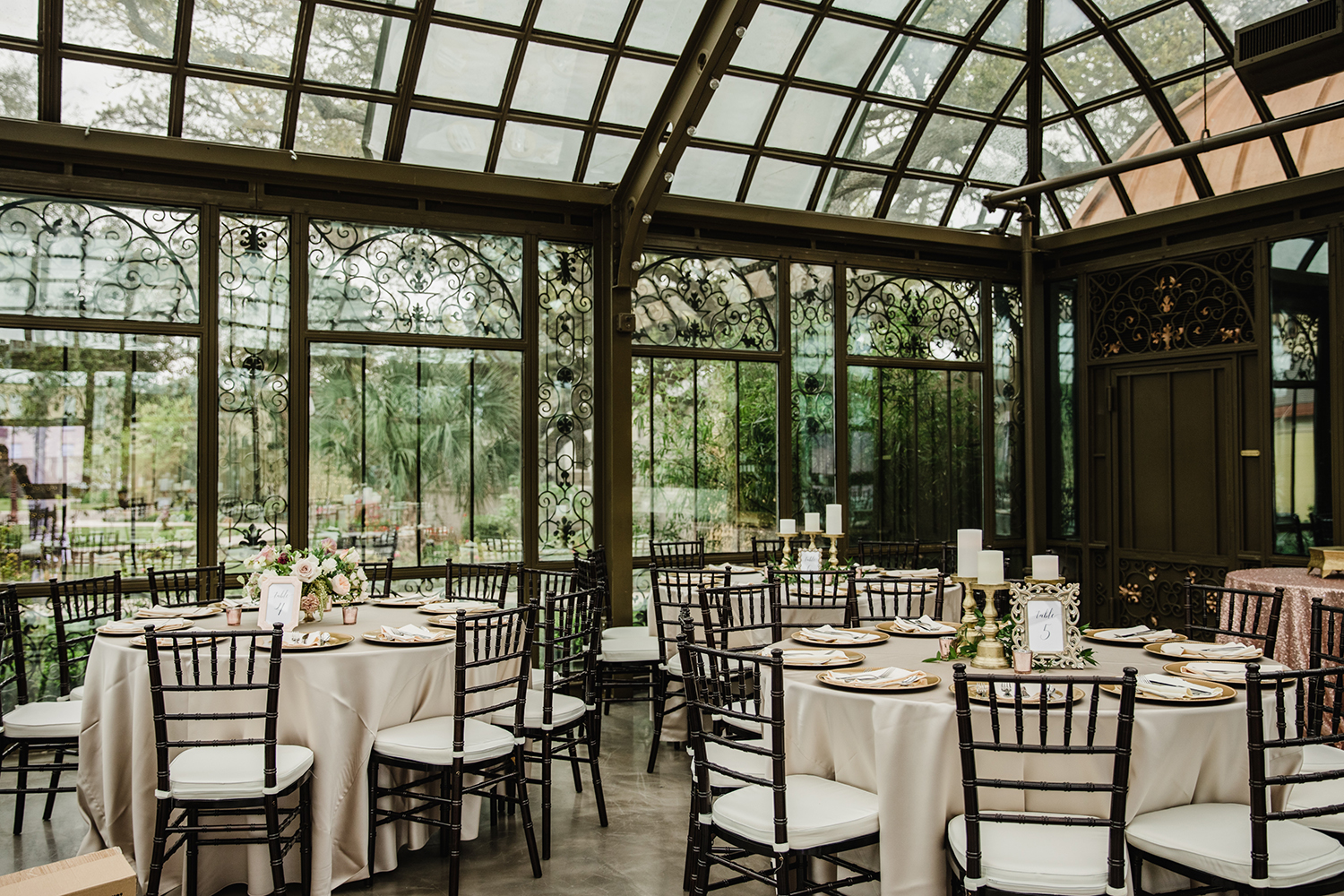 unique - windows - natural light - wedding reception
