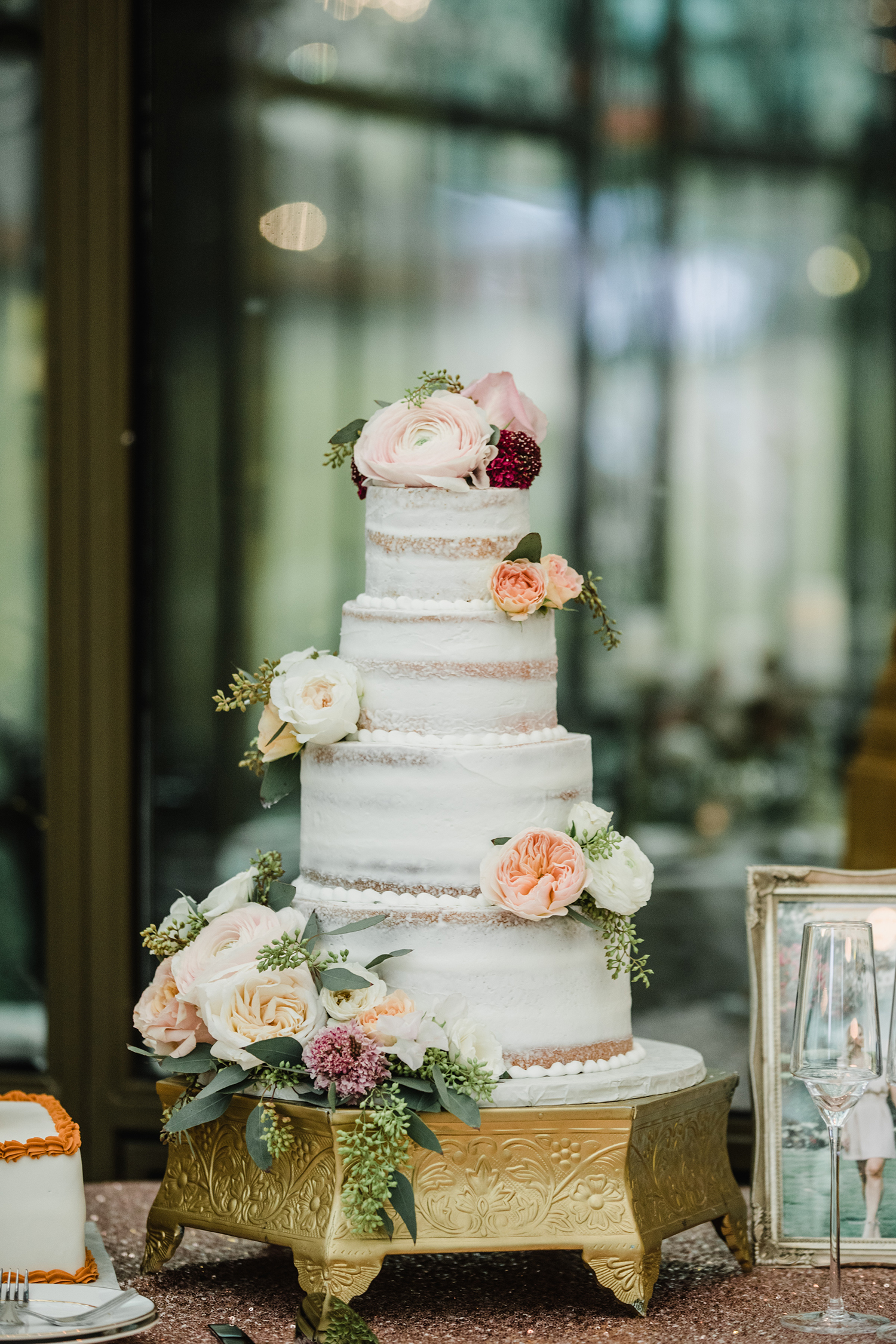 naked cake - custom wedding cakes in houston