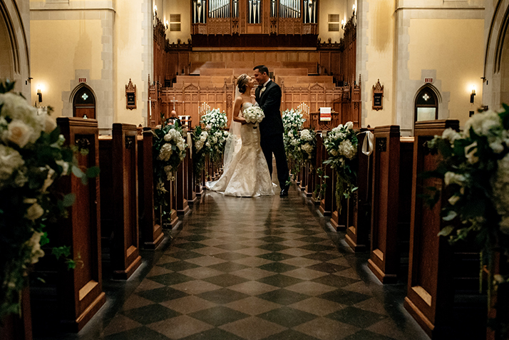 houston wedding, chuch ceremony, bride, groom, bridal